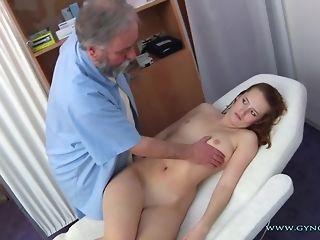 Long-legged Perforator Czech nymph Comes To older Paunchy obgyn medic freesex