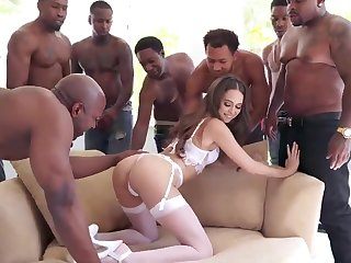 BIG BLACK COCK Group Mating Riley Reid