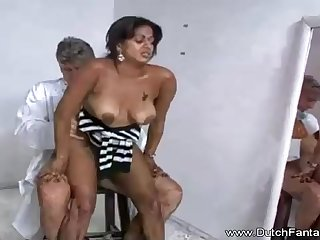 Indian mummy is getting humped in front of someone's skin camera and loving every virginal 2nd of it