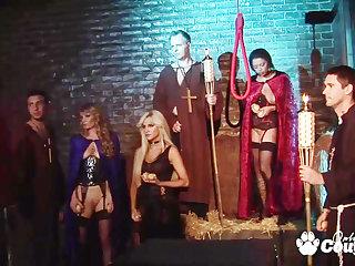 inane fantasy sex orgy