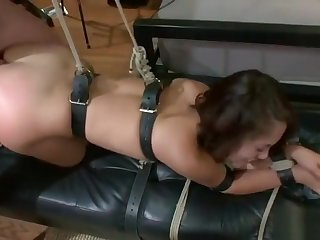 Lovely Kristina Delicate situation having a flawless BDSM allow