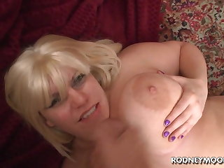 Beauteous BBW Tiffany Blake Big Fat Tits POV