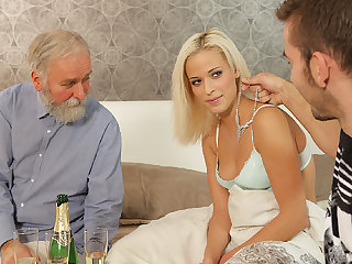DADDY4K. Hot abb� dragged son's girl into unexpected