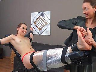 tickling feet mummified