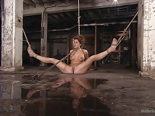 Lesbian BDSM fetish scene with Isabella Soprano and Isis Love