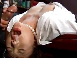 Asian, Babe, Blowjob, Facial, Japanese