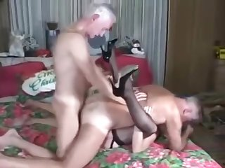 Hermaphroditical Threesome Fuck
