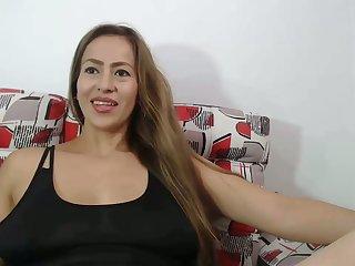 my sex-mad stepmom lactactes on webcam