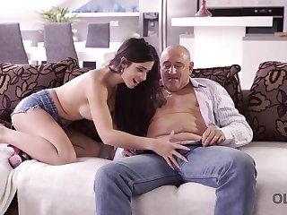 Mira Cuckold takes part in her artful old with the addition of young sexual relations