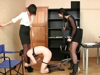 Jane + Elena with an increment of slave sissy