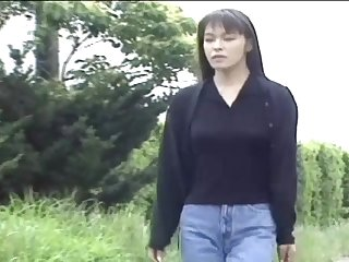 After she takes a shower sexy Japanese gets say no to pussy pleased