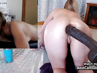 Sexy Naughty Cosset Toying Herself Distressingly