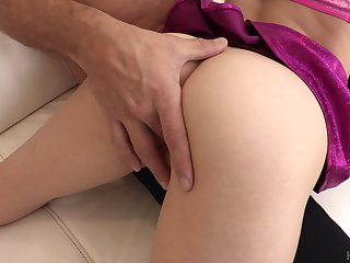 Being cock penetrates and tears pussy of slutty Mackenzie Moss apart doggy