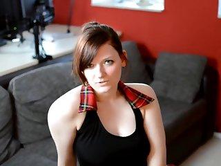 Deutsch Babe Marry Dildofuck back Nylons