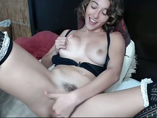 Hot masturbation and I wish I was there wide relieve her snatch with my tongue