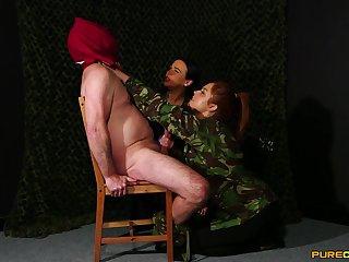 Mandy Foxxx plus Tory Jones carrying-on draw up near a veiny invoice